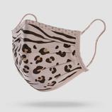 Maske Leopard Khaki