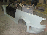 2 Rear Fender mod GTR (complete) BMW E46