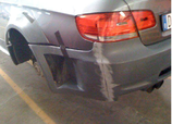 Rear Bumper BMW E92