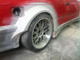 Rear Fenders GTR BMW E36
