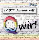 LGBT* Jugendtreff Flyer
