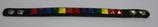 Leder Armband Regenbogen ca. 1,5x22,0 cm