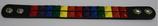 Leder Armband Regenbogen ca. 2,5x22,0 cm