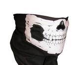 Schlauchhalstuch mit Totenkopfdesign