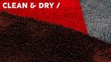 51DN Clean & Dry Bench Mat Dark Red
