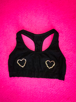 Diamond hearts Racer top