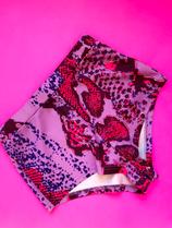 Lila hot pink High-cut briefs