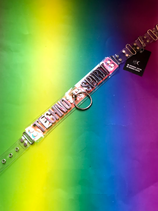 'TECHNO SPIRIT' transparent PVC belt
