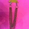 Gold pant tri- chain