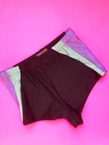 Black pastel mint and lavender control briefs