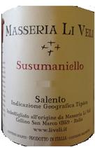 Masseria Li Veli Susumaniello Salento IGT
