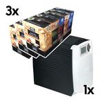 Starterset (1x Crispy-Backautomat und 3x 5 Kapseln Selection-Set)