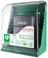 Wandschrank für Defibrillator ohne Alarm