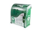Wandschrank für Defibrillator mit Alarm