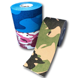 KINESIOLOGIE TAPE 3ER - SET IM CAMOUFLAGE MIX
