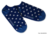 Sneaker-Socken von WILDSOCKS - Glowing Points Bio-Baumwolle