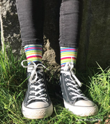 Socken von WILDSOCKS - Rainbow Bio-Baumwolle
