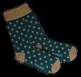 Socken von WILDSOCKS - Happy Points Bio-Baumwolle