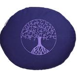 Reisekissen violett Baum des Lebens