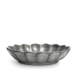 Mateus Ceramics // Große Oyster Schale (31cm) - Grau