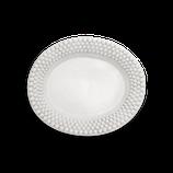 Mateus Ceramics // Bubbles Platte (35cm) - Weiß