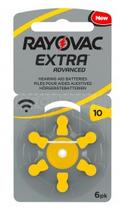 Rayovac 10 Batterie 1.45 V per Apparecchi Acustici