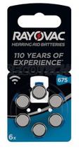 Rayovac 675 Batterie per Apparecchi Acustici
