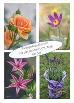 Kartenset Blumen VII
