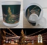 Milchglas-Tasse - Motiv Rathausmarkt