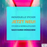 Individuelle Sticker/Aufkleber
