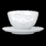 COFFEE CUP 'GRINNING' - TASSEN