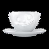 COFFEE CUP 'HAPPY' - TASSEN