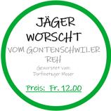 """""""Jäger-Worscht"""""""