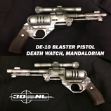 DE-10 BLASTER PISTOL (DIY KIT)