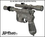 DL-44 HEAVY BLASTER PISTOL - ANH
