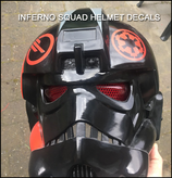 Inferno Squad Helmet decals