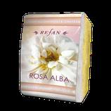 Peelingschwamm mit Seife Rosa Alba 80g