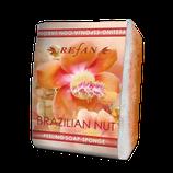 Peelingschwamm mit Seife Brazilian Nut 80g