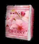 Peelingschwamm mit Seife Wild Cherry 80g