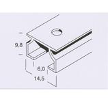 Raum² Aluschiene Mini 6mm Aufmaß  inkl. Zubehör