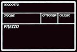 """Lavagna ardesia nera """"Ortofrutta"""""""