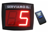 DISPLAY ELIMINACODE LUMINOSO A 2 CIFRE