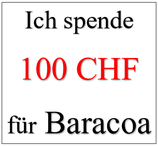 Ich spende 100 CHF für Baracoa