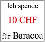 Ich spende 10 CHF für Baracoa