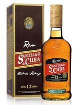 Santiago de Cuba Extra Añejo 11y 7dl 40% Alc.Vol.