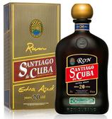 Santiago de Cuba Extra Añejo 20y 7dl 40% Alc.Vol.
