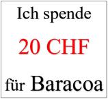 Ich spende 20 CHF für Baracoa
