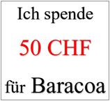 Ich spende 50 CHF für Baracoa