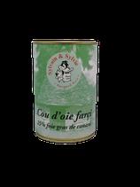 Cou d'oie farci au foie gras