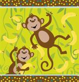Affenbande Tischdecke